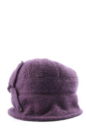 Wełniana czapka niebieski W stylu casual