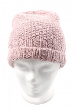Knitted Hat pink casual look