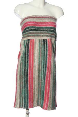 fizz Swetrowa sukienka Wzór w paski W stylu casual