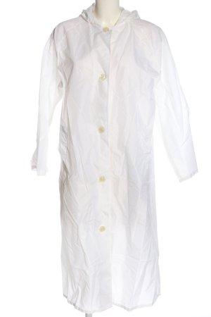 Heavy Raincoat white casual look