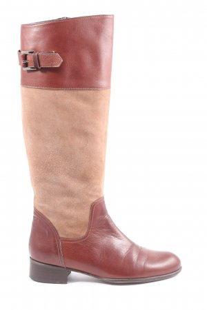 Flavio Creation Riding Boots brown-nude casual look