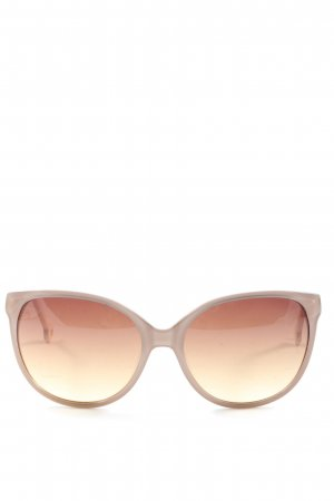 Butterfly Glasses cream casual look