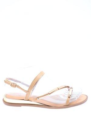 NeverMind! Riemchen-Sandalen pink-wollweiß Casual-Look