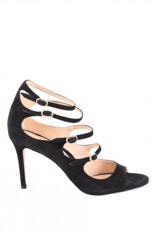 Marion Parke Riemchenpumps schwarz Business-Look