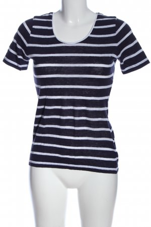 creativlife by Regina Kieninger Stripe Shirt white-blue allover print
