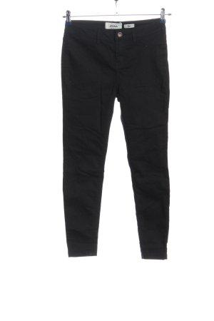 New Look Pantalon cigarette noir style décontracté