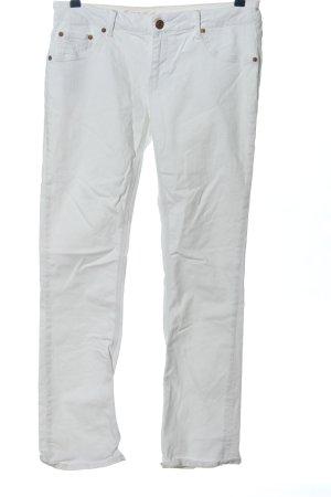 ATT Jeans Spodnie rurki biały W stylu casual