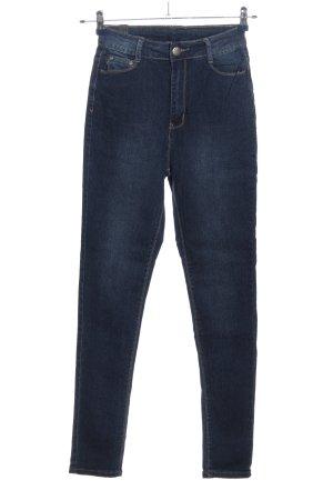 U.W.J Jeans a sigaretta blu stile casual