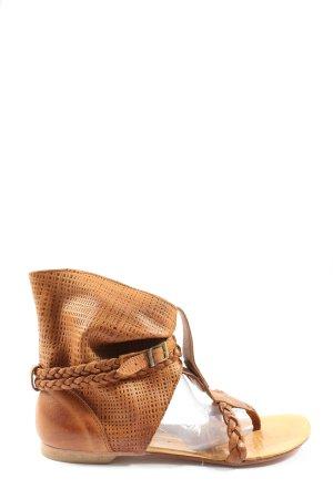 kira bonelli Roman Sandals brown casual look
