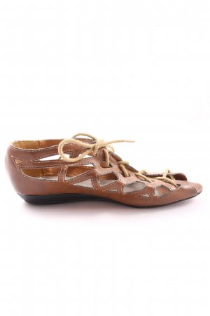 Roman Sandals brown casual look