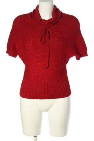 BearTwo Maglia a collo alto rosso stile casual