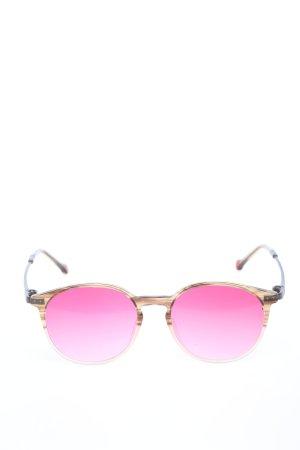 Unbekannt runde Sonnenbrille