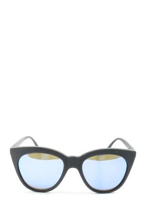 Le Specs Vierkante bril lichtgrijs casual uitstraling