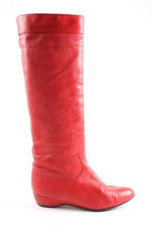 Panzl Stivale militare rosso stile casual
