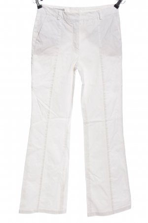 Flares white casual look