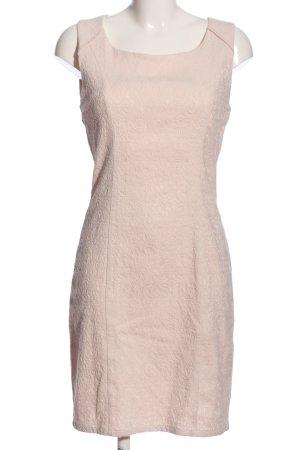 mnimum Vestido de tubo crema estilo «business»