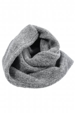 Tube Scarf light grey flecked casual look