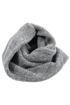Écharpe tube gris clair moucheté style décontracté