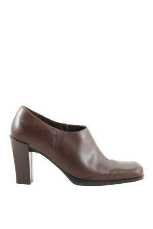 PEGABO Slip-on Booties brown casual look