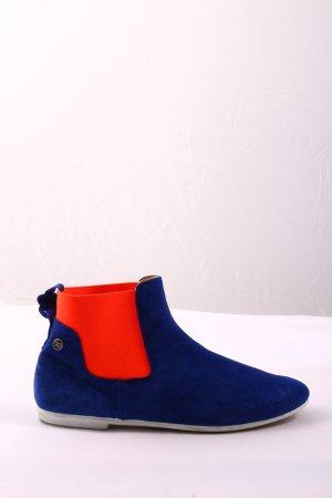 yum gum Slip-on Booties blue-red casual look