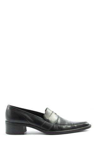 Zapatos sin cordones negro estilo «business»