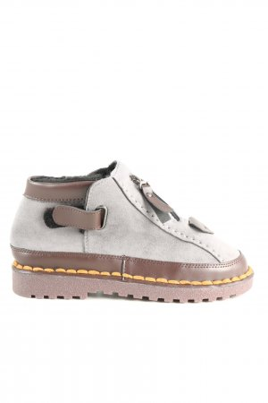 Slip-on Shoes light grey-brown casual look