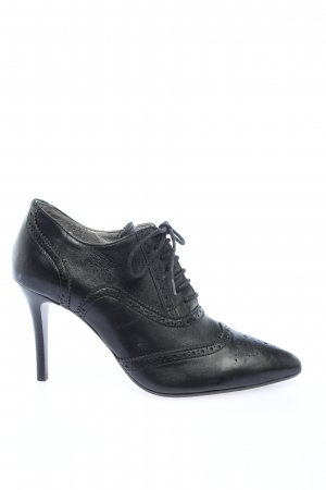 Lace-up Pumps black casual look