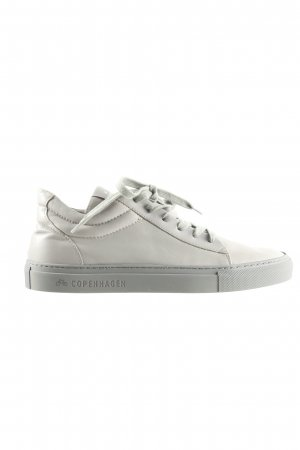 Lace Shoes light grey casual look