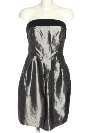 Bandeau Dress light grey elegant