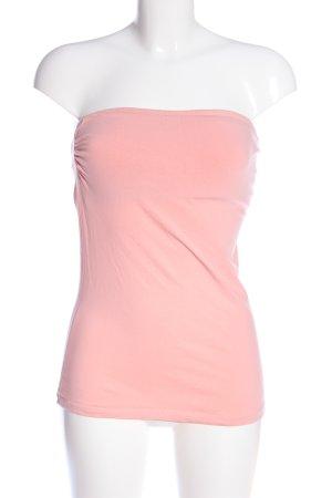 Off-The-Shoulder Top pink casual look