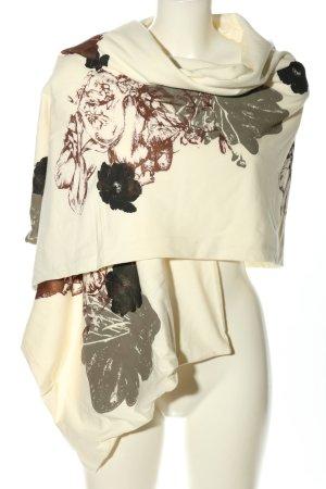 Chusta na ramiona kremowy-brązowy W stylu casual