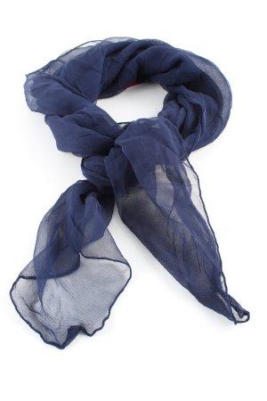 Schultertuch blau Casual-Look