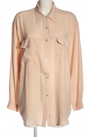 Silk Blouse nude business style