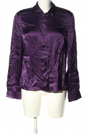 Silk Blouse lilac business style