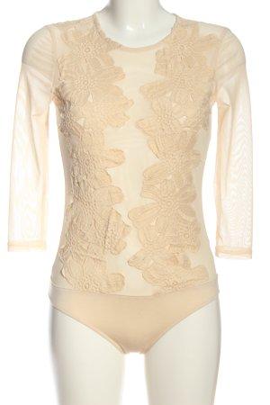 Zeza fashion Shirtbody creme Elegant