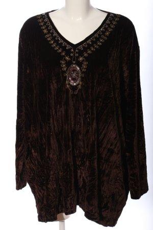Shirt Tunic bronze-colored elegant