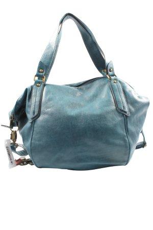 Shopper blauw elegant