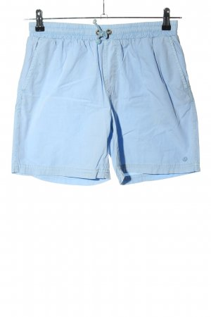 solid Shorts blau Casual-Look
