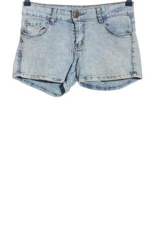 Miss RJ Shorts blau Street-Fashion-Look