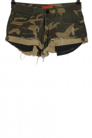 Signature 8 Shorts khaki Allover-Druck Casual-Look