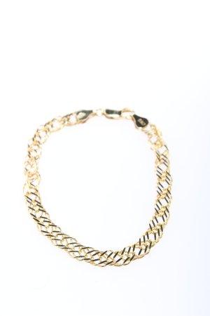 Zilveren armband goud casual uitstraling