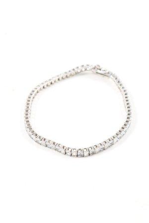 MYG Bracelet en argent argenté style décontracté