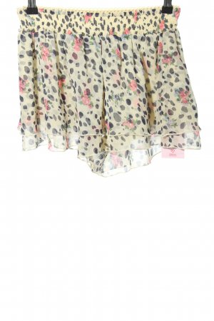 Skorts abstract pattern casual look