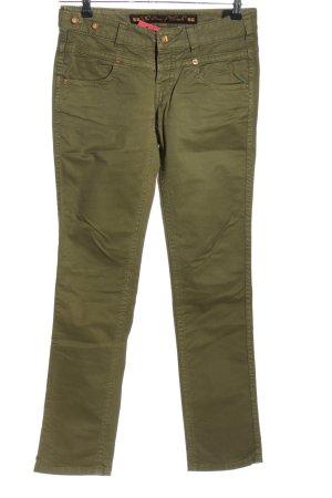 Jeans slim kaki style décontracté