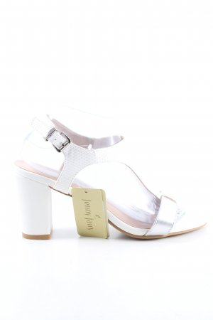 T-Strap Sandals white business style