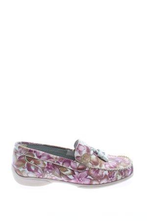 Zapatos formales sin cordones estampado repetido sobre toda la superficie