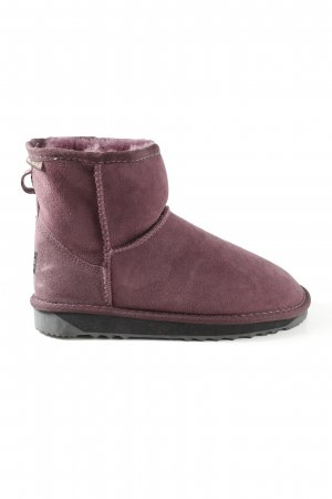 Snowboots rot Casual-Look