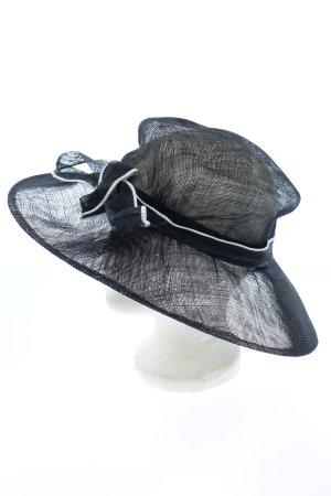 Cappello parasole nero stile casual