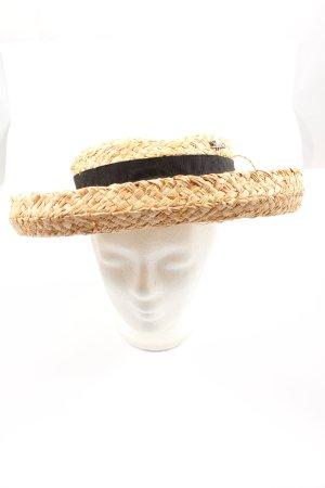 Chapeau de soleil brun style décontracté