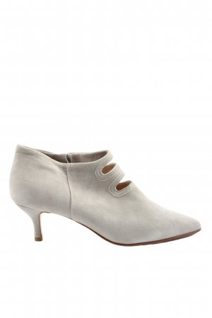 Buty z zabudowanym przodem jasnoszary W stylu casual